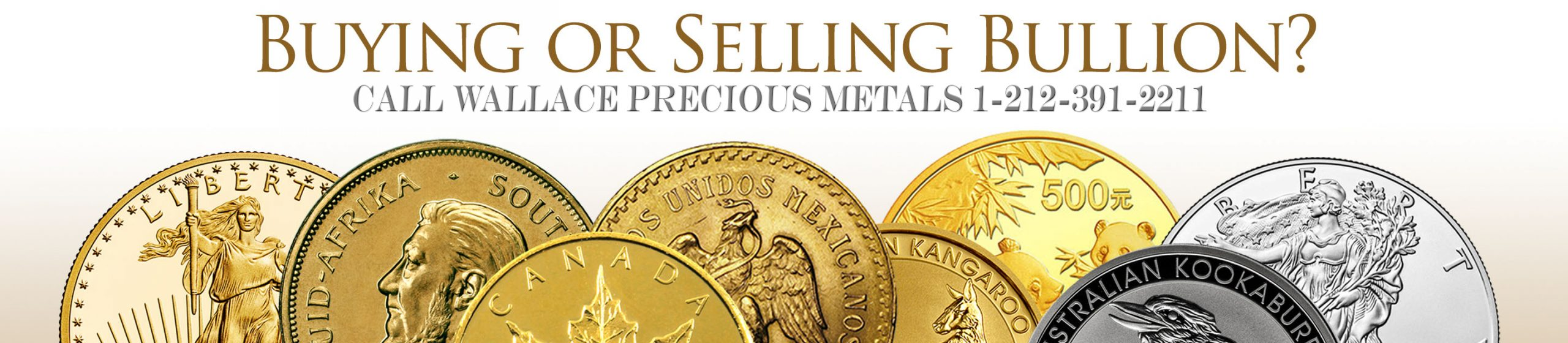 Buying or selling precious metal? Contact Wallace Refiners