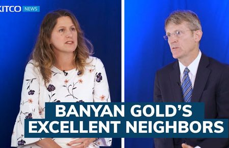 Banyan Gold has 1.1 million gold oz inferred and is near two operating mines