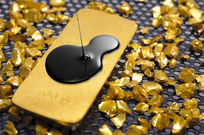 Gold is a sea of stability as equities drop 2%, oil falls 3%