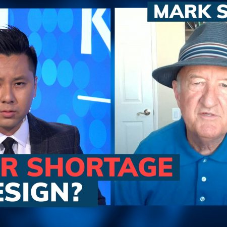 Biden is deliberately creating labor shortages to boost wages and inflation says Mark Skousen